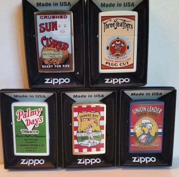 Zippo Lighter Tobacco Tin Series No 2 Limited Edition Set Of 50 Ultra Rare