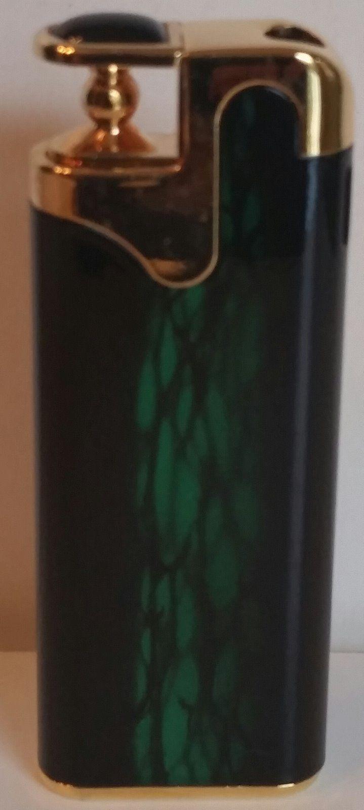 Refillable Salem Cigarette Butane Lighter Great Find In Package Gold Tone NEW Lighters