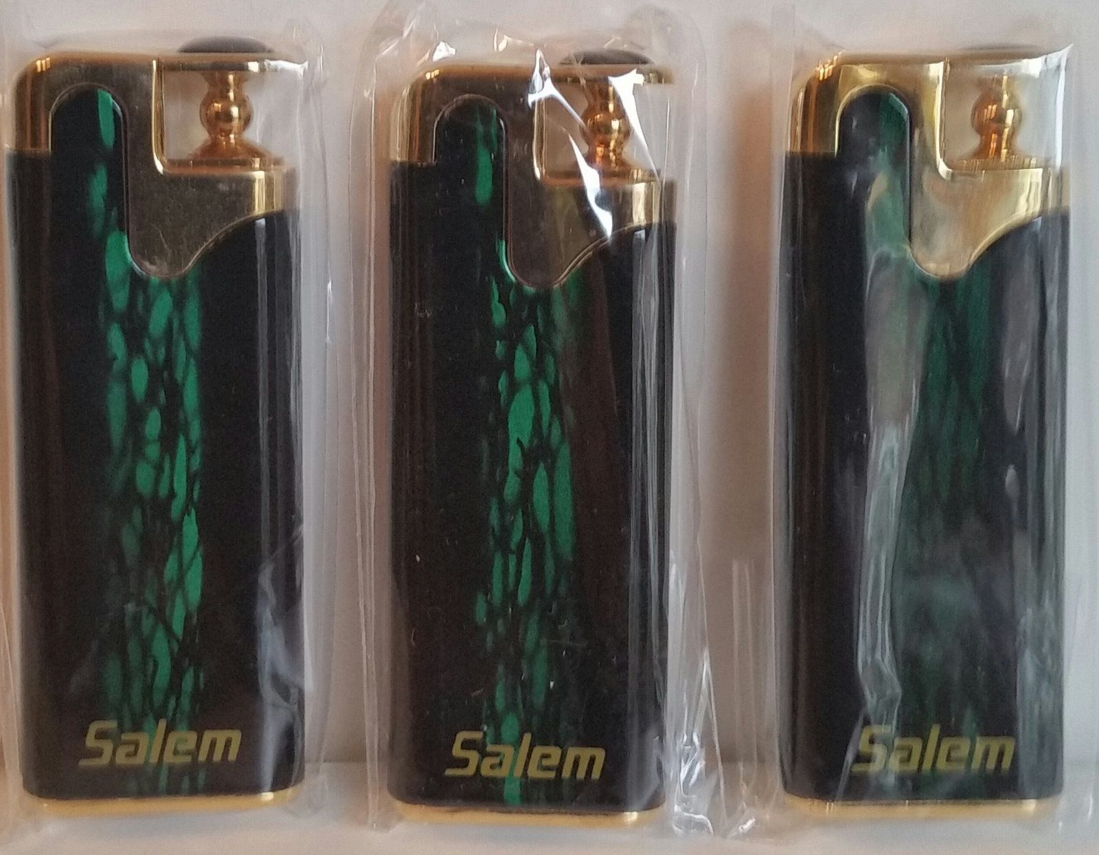 Refillable Salem Cigarette Butane Lighter Great Find! In package