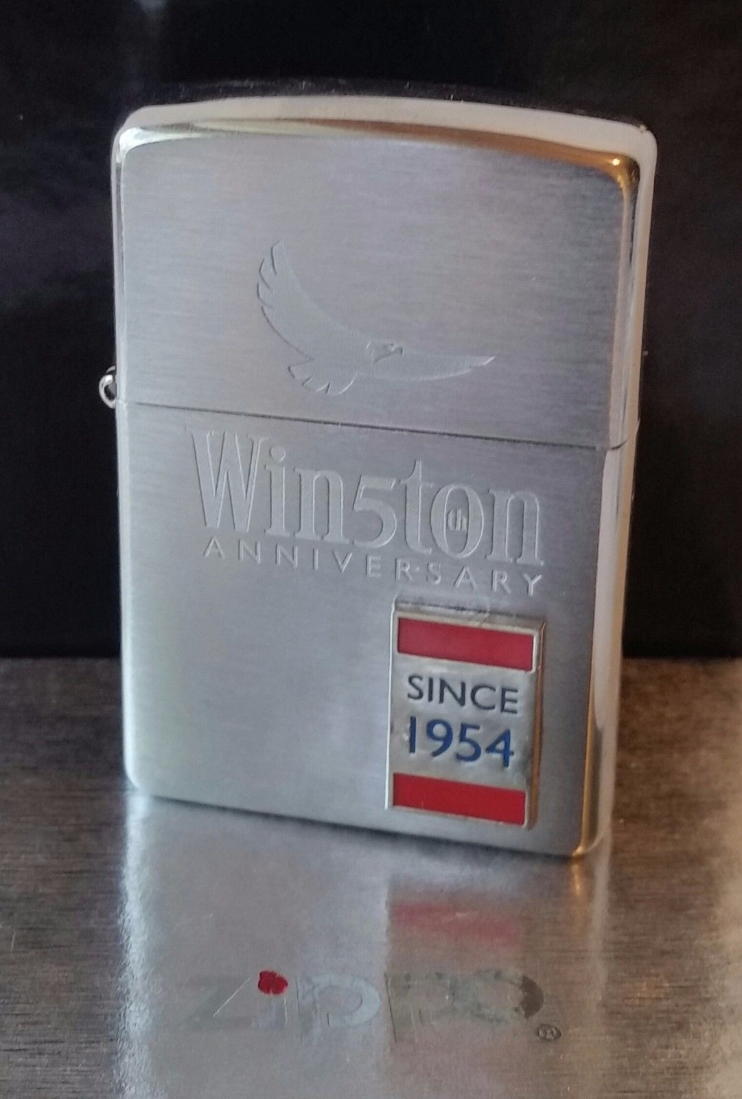 Zippo Lighter Winston 50 Years Anniversary RARE New In Box