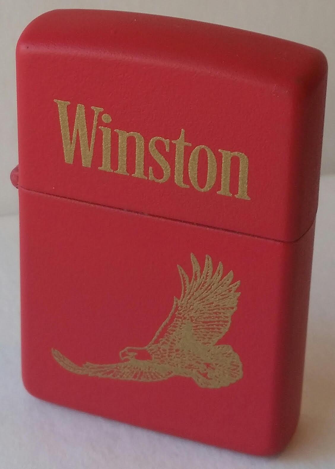 Zippo Lighter Winston Tobacco Red Prototype RARE RJR CAMEL NEW 1996